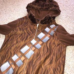 Star Wars Costumes - Star Wars Chewbacca Costume Fleece Hood Onesie